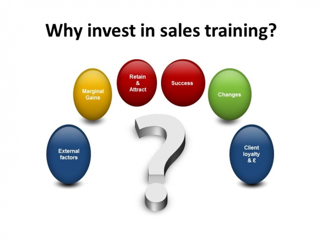 Why  invest in sales training?