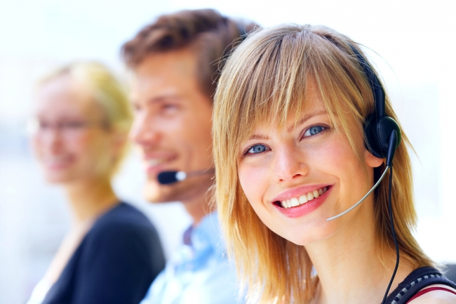 Beginner taking a telesales training course